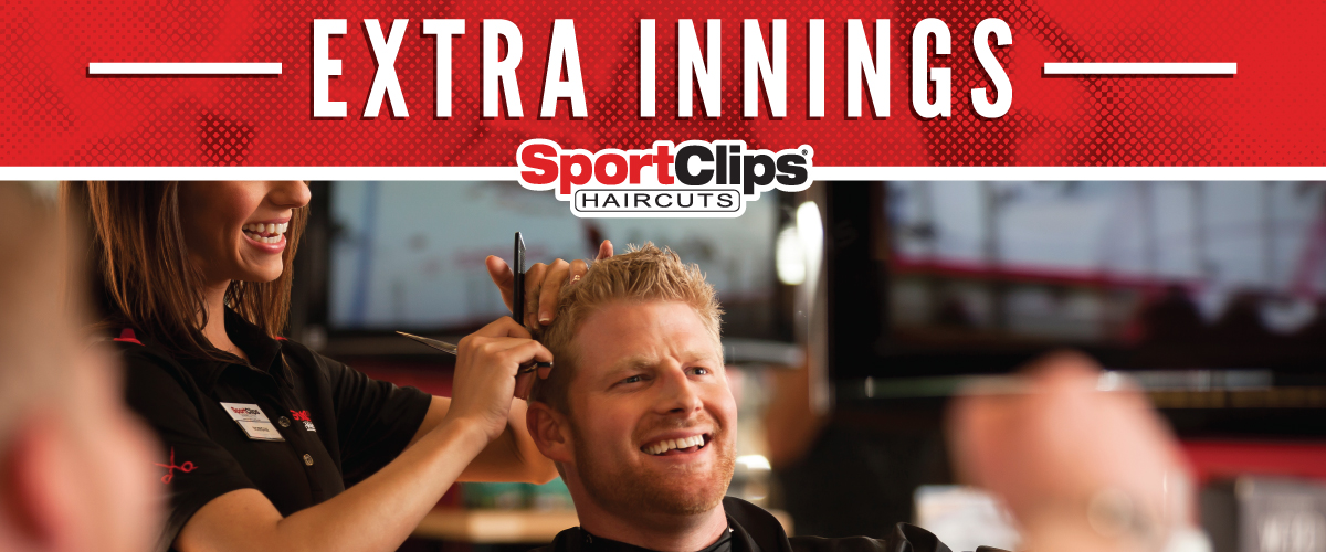 The Sport Clips Haircuts of Sugarcreek Plaza-Bellbrook Extra Innings Offerings